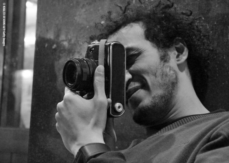 El fotoperiodista Mahmoud Abou Zeid, conocido como Shawkan.