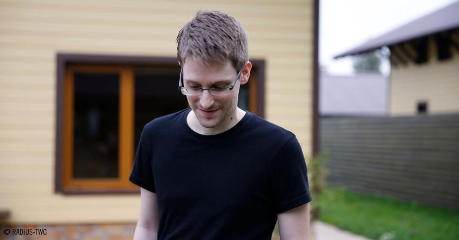 Retrato de Snowden