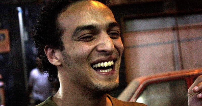 """Retrato de Mahmoud Abu Zeid, alias """"Shawkan"""""""
