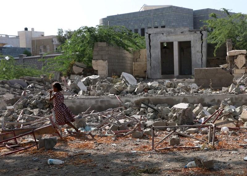 Una escuela en Yemen alcanzada por misiles lanzados por la coalición dirigida por Arabia Saudí. © Amnesty International