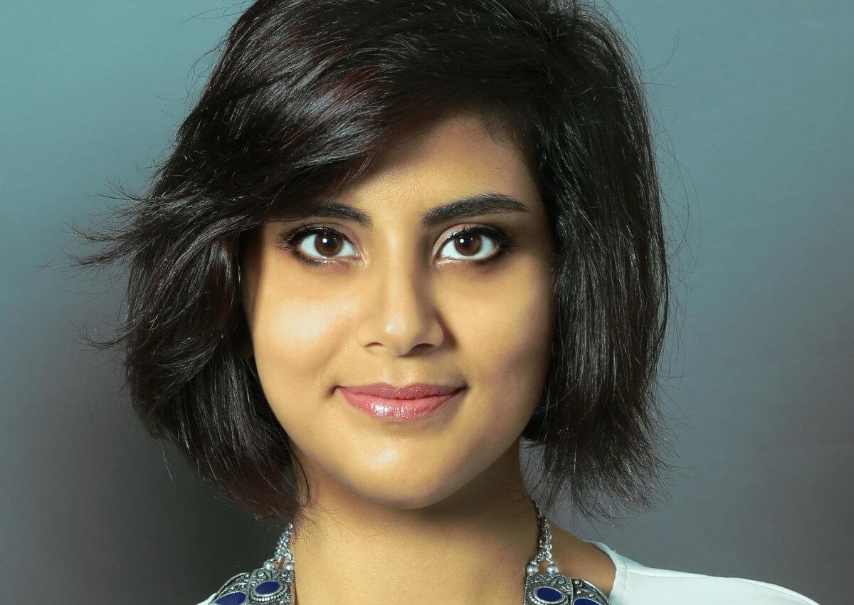 Retrato de Loujain al-Hathloul