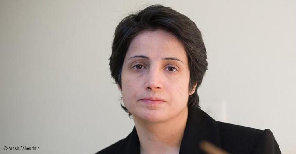 Retrato de Nasrin Sotoudeh © Arash Ashourinia
