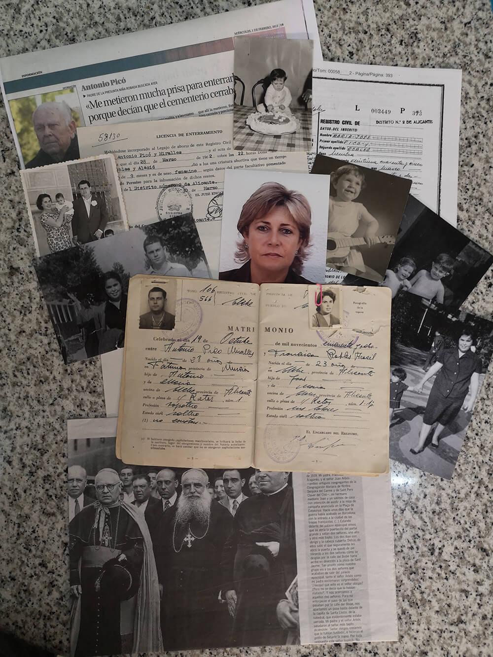 María José Picó caso del informe de Amnistía Internacional