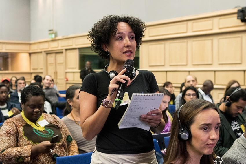 Isabel Zulueta, activista colombiana