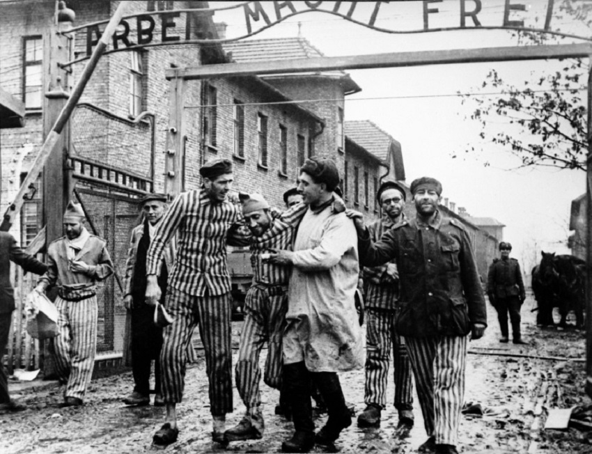 Liberación Auschwitz