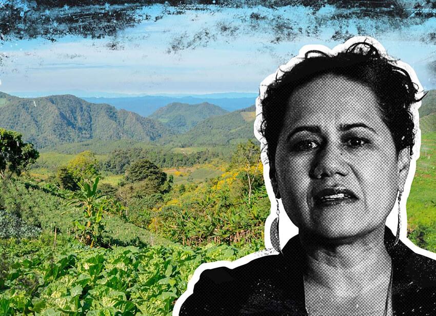 Maria Ciro, defensora del medioambiente