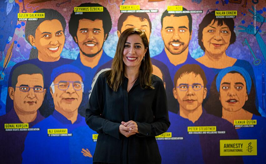 Nurcan Baysal, periodista y defensora de derechos humanas turca