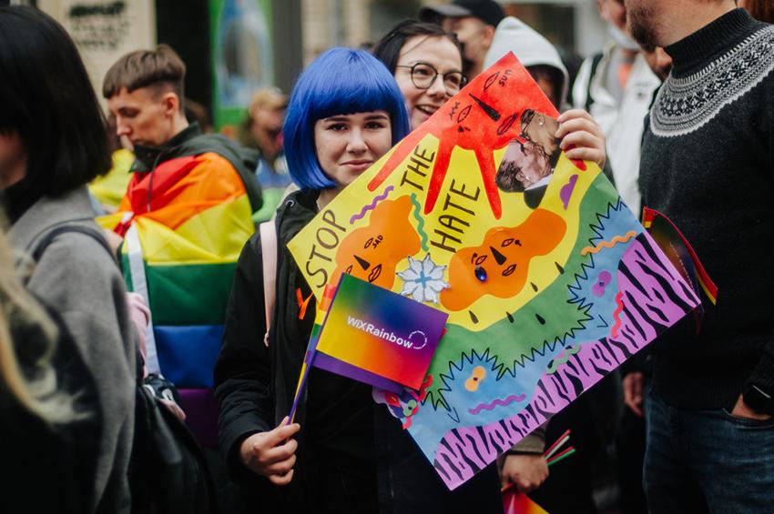 Marcha de la Igualdad en Kiev