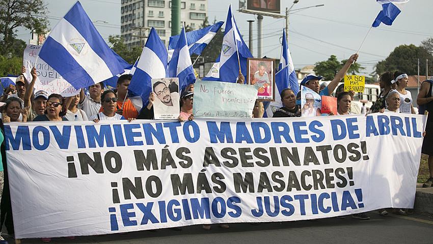 Movimiento Madres de Abril, Nicaragua