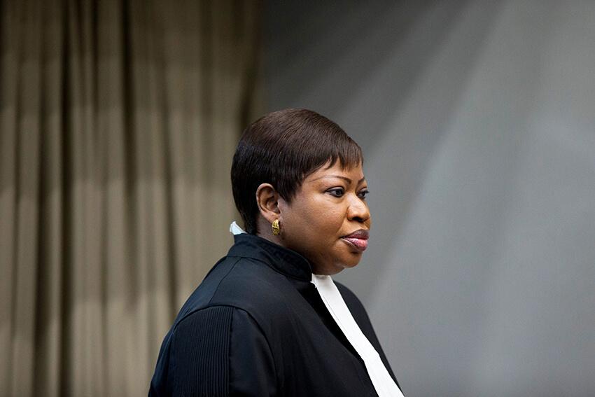 La fiscal Fatou Bensouda