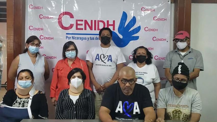 Defensoras y defensores del El Centro Nicaragüense de Derechos Humanos (CENIDH)