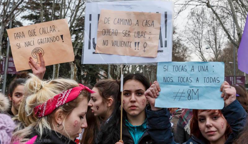 Manifestación 8 marzo de 2018