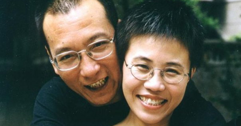 Liu Xia y Liu Xiaobo. © Private